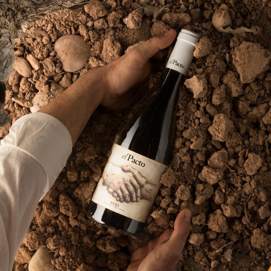 Jorge Comi, Fotografía creativa del vino El Pacto de Vintae